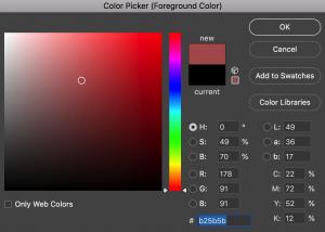 Cette palette contient toutes les couleurs de la gamme RGB. Dans la vie réelle (vue par vos yeux), il existe bien plus de couleurs que ça.